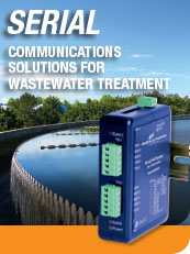 Serial - Communications Solutions for Wastewater Treatment