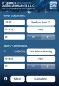 Buck Research Instruments, LLC - iPhone App