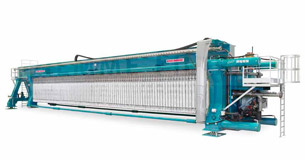 Diemme Filtration - KE Side Beam Filter Press