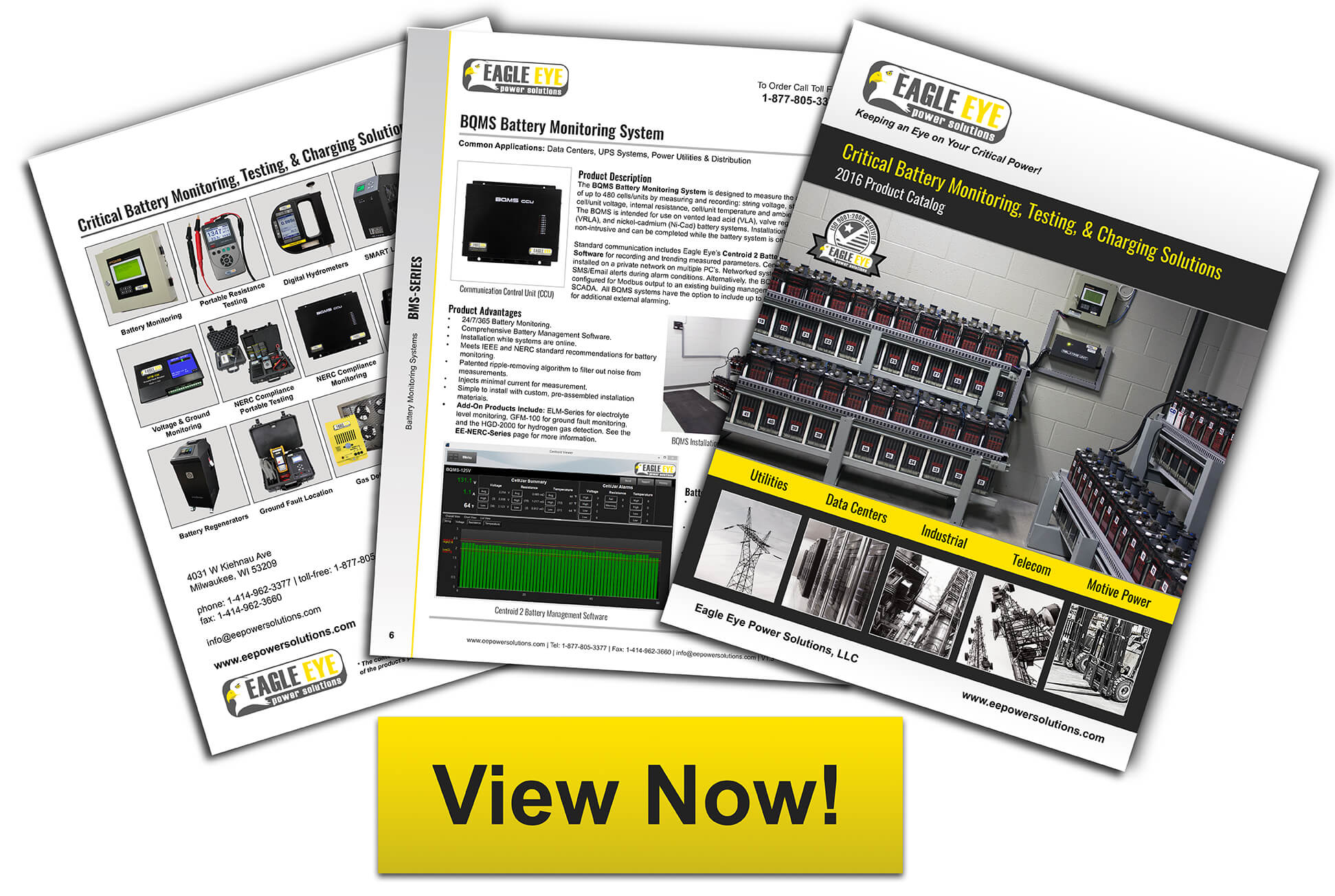 Eagle Eye 2014 Battery Testing Catalog