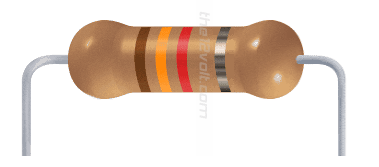 Resistors information engineering360 resistor close up showing bands from the12volt publicscrutiny Image collections
