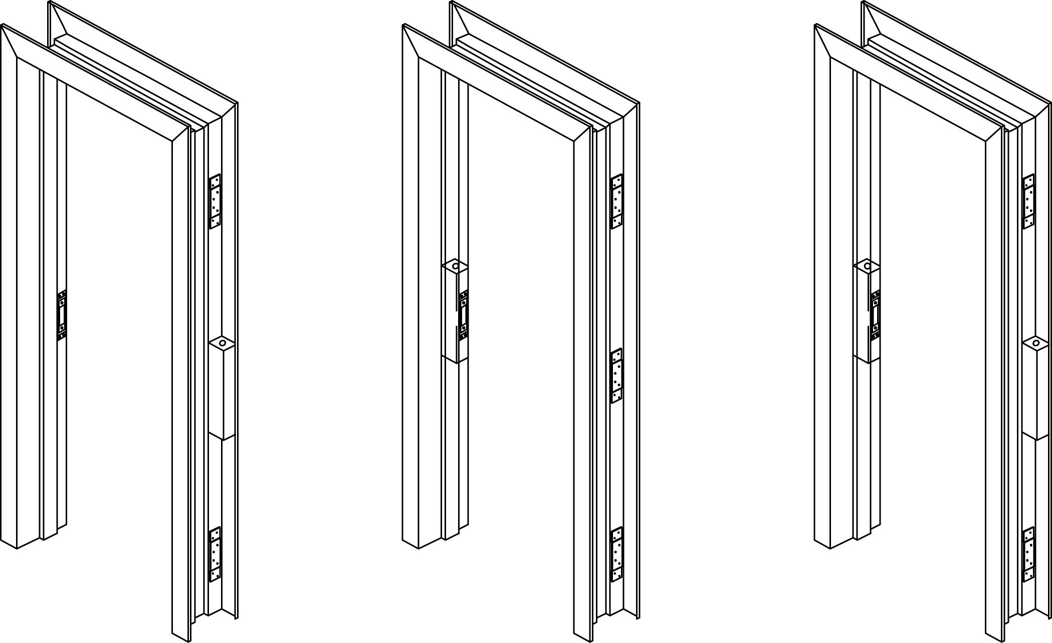 Door frame metal frame door for Outside doors and frames