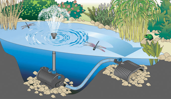 Diagram submersible pond pumps 2 diagram free engine for Pond pump placement
