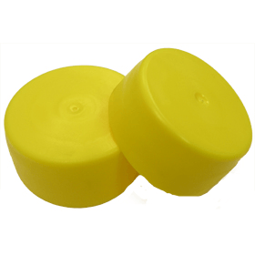 Flexible round end caps