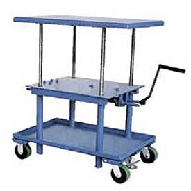 Telescoping lift table