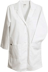 Selecting lab coats