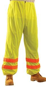 Selecting safety pants