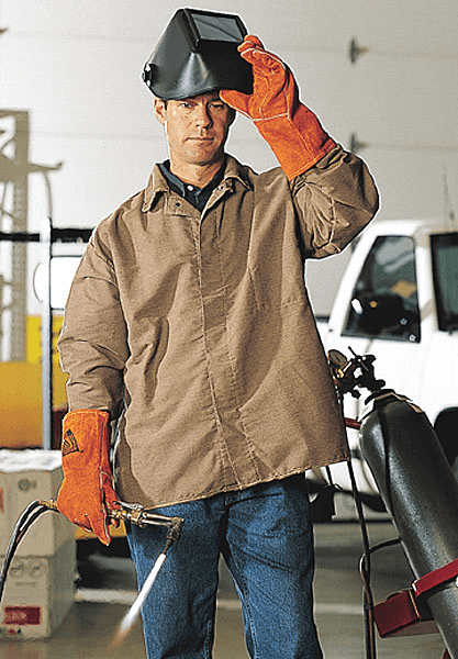 Selecting welding safety clothes
