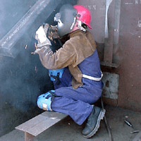Selecting welding apparelt