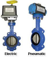 Electric and Pneumatic Valves image