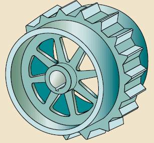 Multiple-duty Sprocket from Motion System Design