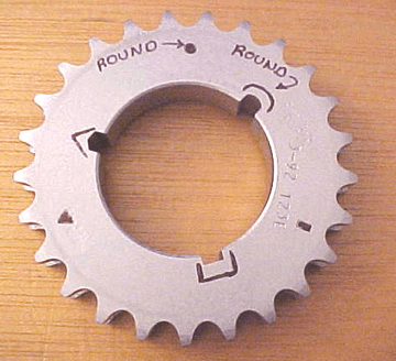 Sprocket with Keyway image