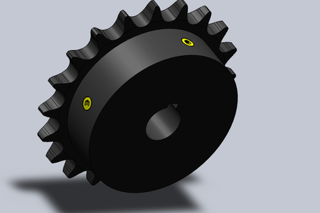 Sprocket with Set Screws image