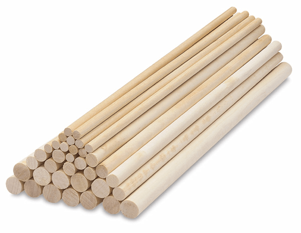 How to Select Wooden Dowels