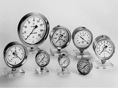 Different Dial Diameter Pressure Gauges