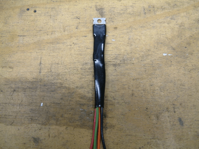 Sealed circuit with electrical tape