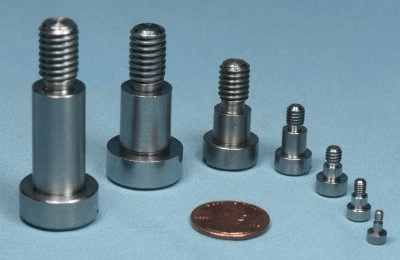 Precision shoulder screws sizes