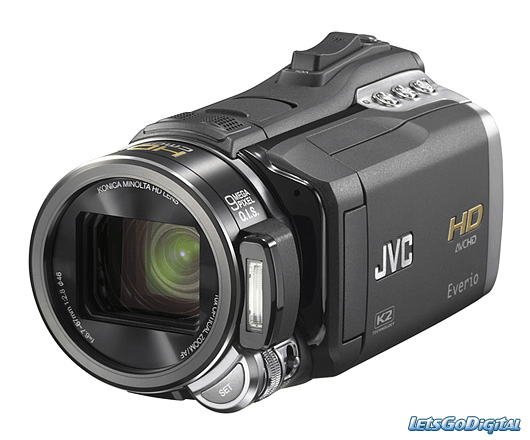 Handheld digital video camera