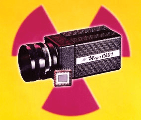 Radiation hardened scientific industrial camera