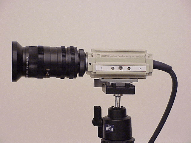 High-speed Kodak motion corder analyzer image