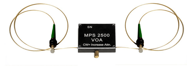 Singlemode Variable Optical Attenuator