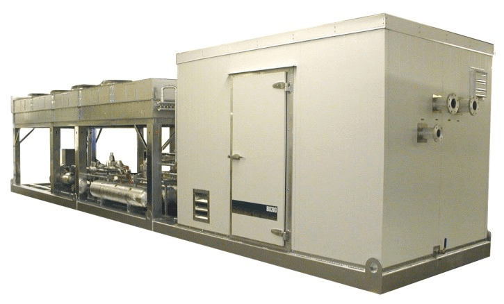 Chiller with Walk-in Enclosure