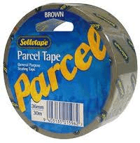 Selecting parcel tape