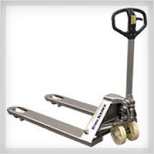 Stainless steel corrosion resistane pallet jack