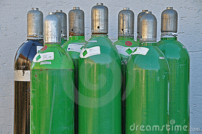 Selecting argon bas cylinders