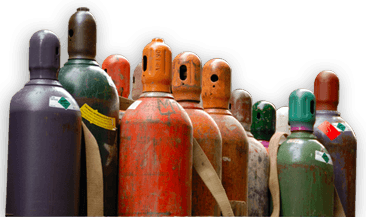 Selecting medical gas tanks