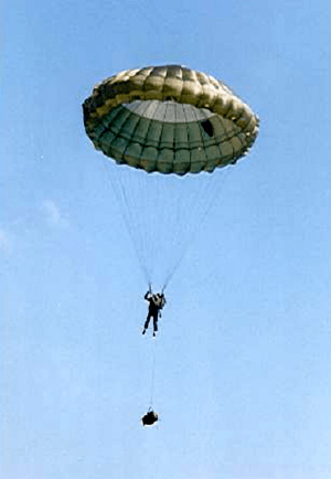 Selecting personnel military parachutes