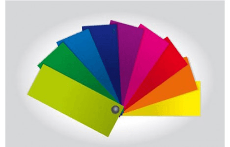 color swatches and reference systems selection guide