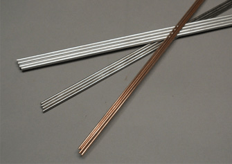 Filler metals in rod form