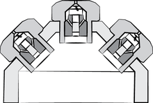 Compound nozzle applicator diagram