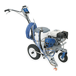 Cart-mounted Spray Painter image