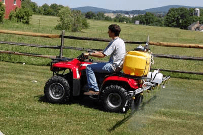 ATV spray equipment