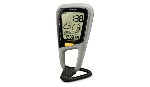 Selecting handheld altimeter