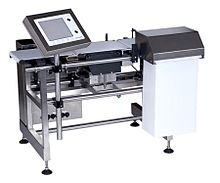 Checkweigher; image courtesy of Wikipedia