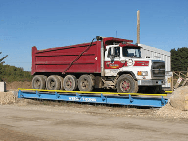 Truck Scale; image courtesy of Acme Scale System