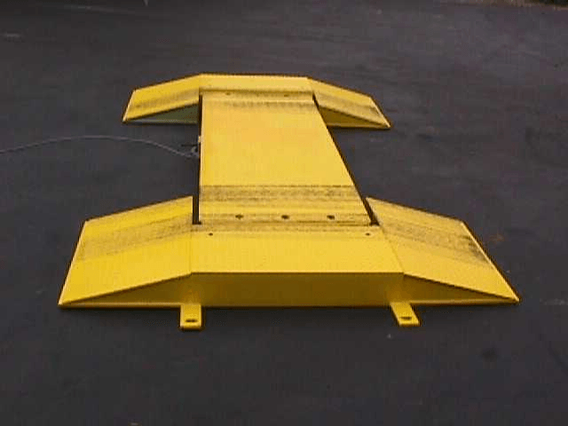 Axle Scale; image courtesy of Truck Scales