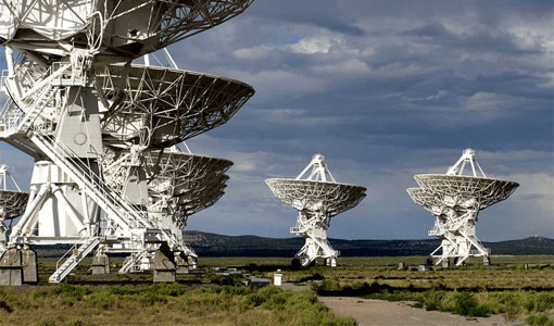 Selecting parabolic dish antenna