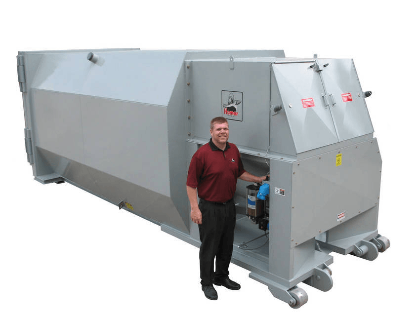 Waste compactors information ihs engineering360 Garbage compactor
