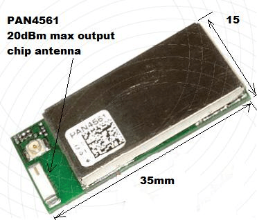 Chip antenna indentifieddiagram