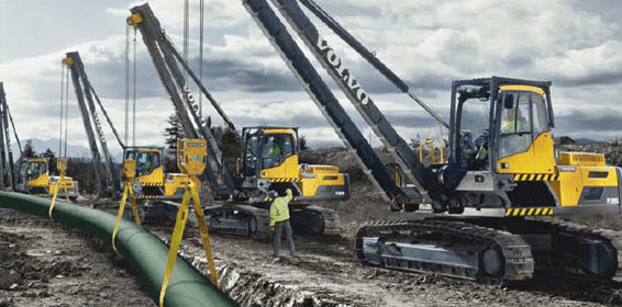 Selecting pipelayers