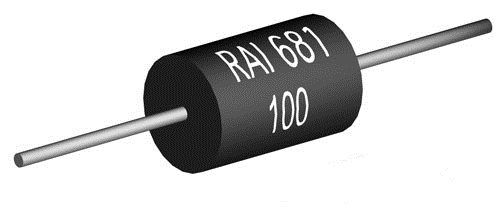 Precision wirewound resistor from Riedon