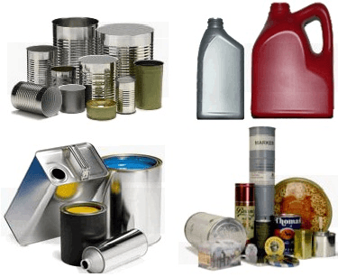 Packaging Containers (various) image