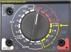 Multimeter Selector Switch image