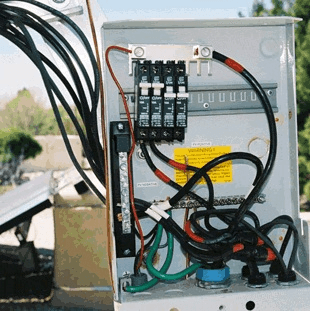PV Solar combiner box protection
