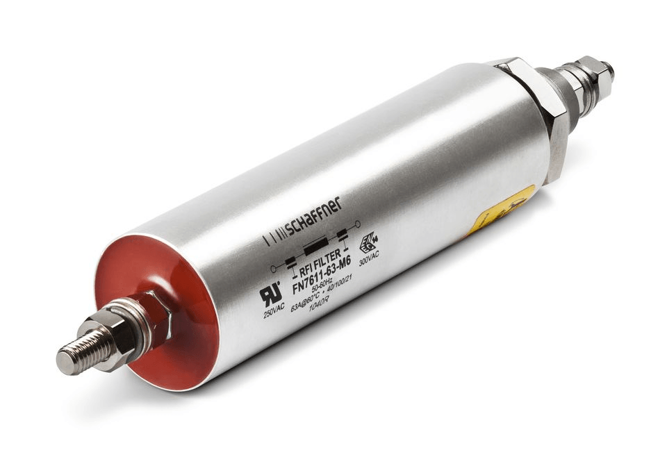 Feedthrough filter from Schaffner EMC