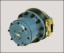 Selecting wheel and track drives